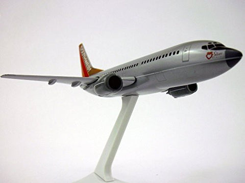 Southwest Silver One 737-300 Airplane Miniature Model Plastic Snap Fit 1:200 Part# ABO-73730H-201