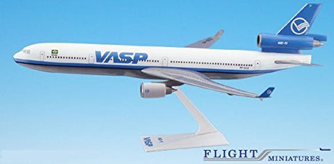 VASP MD-11 Airplane Miniature Model Plastic Snap Fit 1:200 Part#AMD-01100H-020