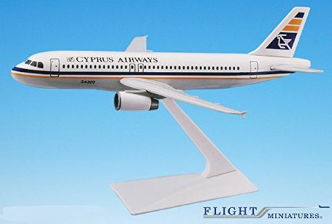 Cyprus Airways A320-200 Airplane Miniature Model Plastic Snap-Fit 1:200 Part# AAB-32020H-026