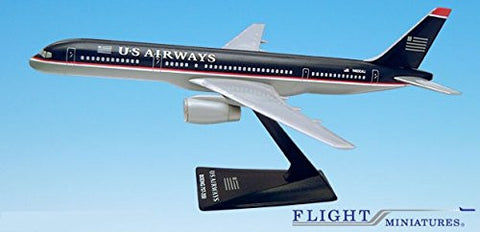 US Airways (97-05) 757-200 Airplane Miniature Model Plastic Snap Fit 1:200 Part# ABO-75720H-052 by Flight Miniatures