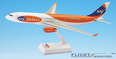 MyTravel AirBus A330-200 Airplane Miniature Model Plastic Snap Fit 1:200 Part# AAB-33020H-011