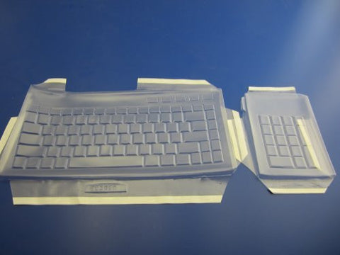 Viziflex's Biosafe Anti Microbial Keyboard cover fitting Kensington Slimblade Media K72279US
