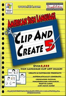 ASL Clip Art and ASL Games