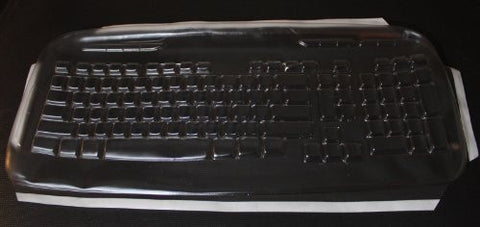 Keyboard Cover for Logitech EX110 Keyboard,Keeps Out Dirt Dust Liquids and Contaminants - Keyboard not Included - Part#877E115