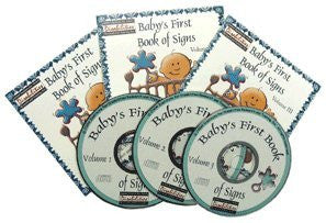 ASL American Sign Language Baby's First Book of Signs Volume 1, 2 & 3 Bundle for Windows Only