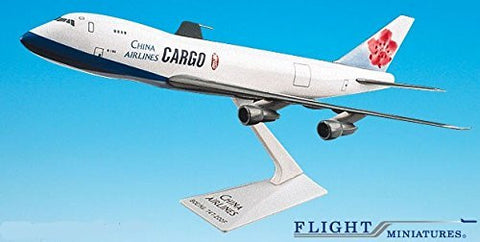 China Airlines Cargo 747-200F Airplane Miniature Model Plastic Snap-Fit 1:250 Part#ABO-74710I-023