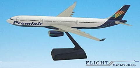 Premiair A330-300 Airplane Miniature Model Plastic Snap Fit 1:200 Part# AAB-33030H-007
