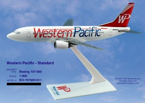 Flight Miniatures Western Pacific B737-300 Model Plane