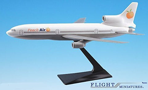 Peach Air L-1011 Airplane Miniature Model Plastic Snap Fit 1:250 Part# ALK-10110I-021