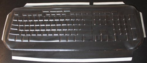 Keyboard Cover for Microsoft Wired 600 Keyboard,Keeps Out Dirt Dust Liquids and Contaminants - Keyboard not Included - Part#235G108