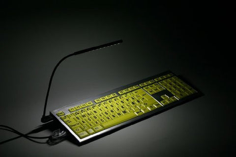 LogicKeyboard LogicLight Keyboard Lamp, Black