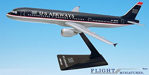 US Airways (97-05) A321-200 Airplane Miniature Model Plastic Snap Fit 1:200 Part# AAB-32100H-009