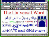 Universal Word 2005 ML-4. European & Cyrillic Languages Multilingual Word Processor for: Albanian, Azeri (Cyrillic), Bohemian (Czech), Bulgarian, Byelorussian, Croatian, Czech, Danish, Dutch, English, Esperanto, Finnish, French, German, Greek (Modern), H