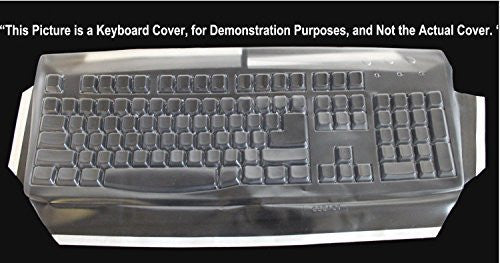 Keyboard Cover for Dell RTTD40 Keyboard; Part# 472E118 Keeps Out Dirt Dust Liquids and Contaminants - Keyboard not Included