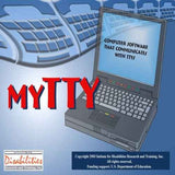 myTTY 3.0 Software Phone Messenger for Deaf and Hearing Impaired Individuals for Windows Only