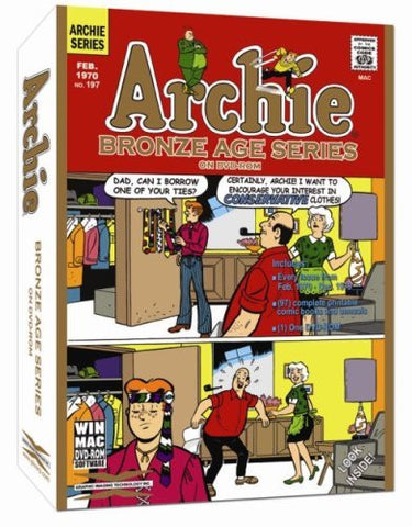 Archie Comic Books - Bronze Age Series on DVD-ROM (1970 to 1979)