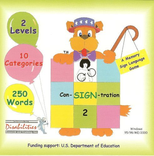 ASL Con-SIGN-Tration #1, #2, #3 & #4 Bundle - An American Sign Language Memory Game