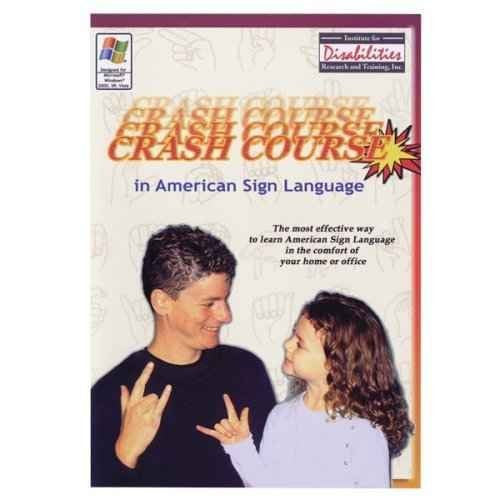 Crash Course for American Sign Language - ASL - CD-ROM (Windows)