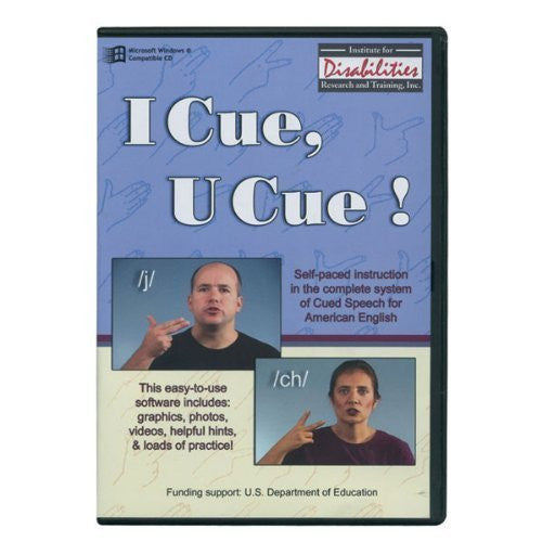 I Cue, U Cue - ASL Cued Speech- CD Rom Software