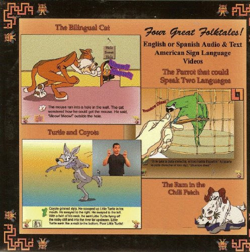 MSL Mexican Sign Language Tamados de la Mano (Hand in Hand) CD - III Hispanic Folktales for Windows Only