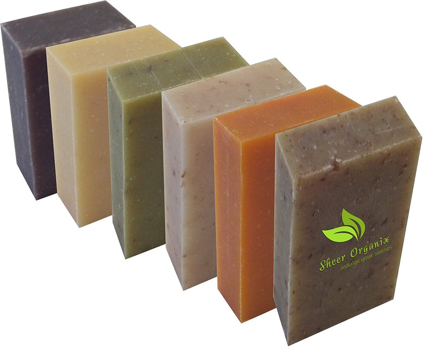 Certified Organic Sheer Organix Rejuvenative Herbal Soap Handmade in the USA