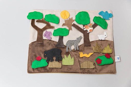 "Handmade - Forest Habitat Story Board (16"" x 1"" x 12"") - Made by Women Artisans"