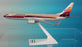 American/Air Cal Boeing 737-800 Airplane Miniature Model  Diecast  1:200  Part# ABO-73780H-033
