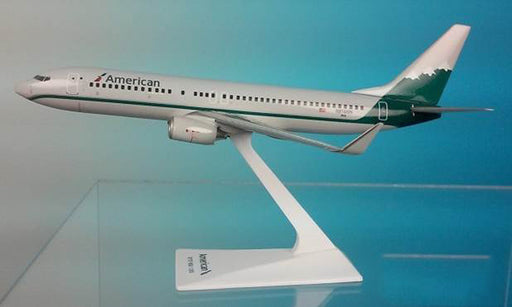 American/Reno 737-800 Airplane Miniature Model  Diecast  1:200  Part# ABO-73780H-034