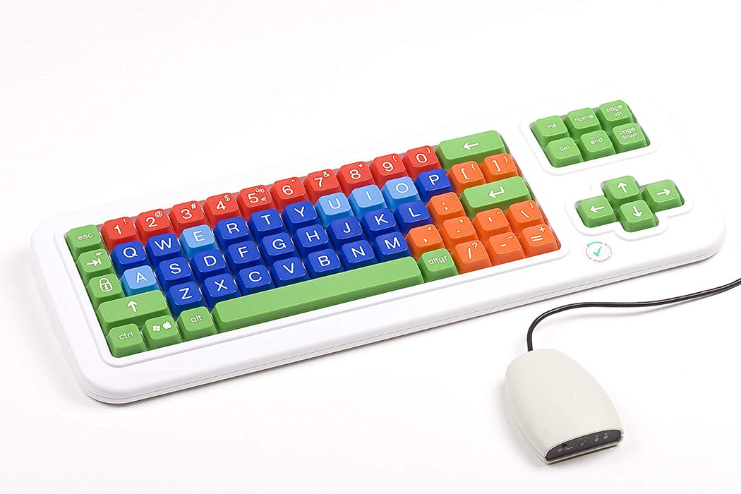 Color Coded Bluetooth Wireless Keyboard