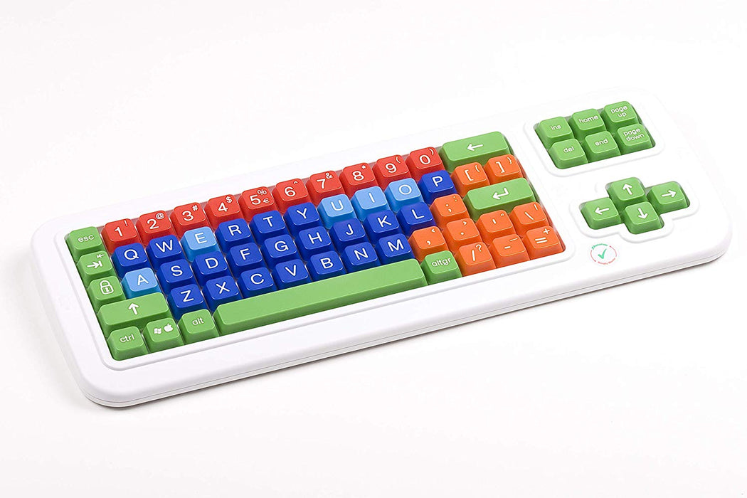 Clevy Large Print Mechanical Keyboard