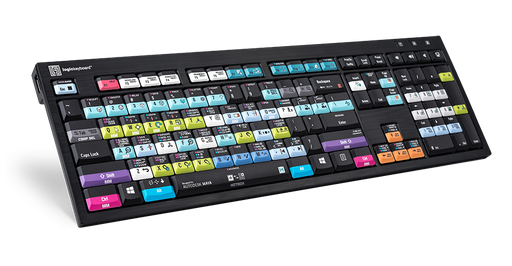 LogicKeyboard Designed for Autodesk MAYA - PC Nero Slim Line Keyboard - Part: LKB-MAYA-BJPU-US