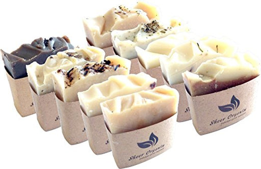 Sheer Organix Luxury Rejuvenative Handmade Herbal Soap