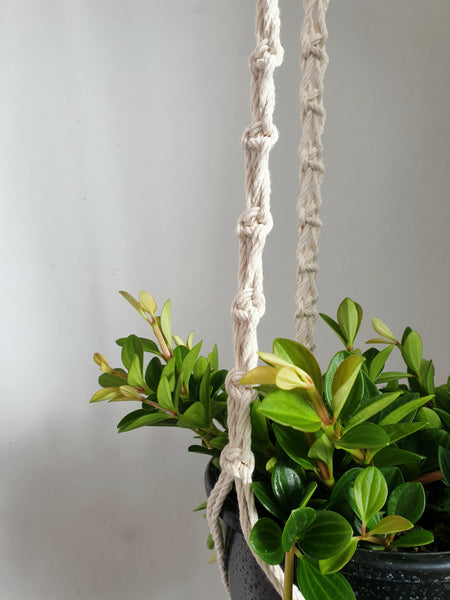 Natural Cotton Macrame Lock