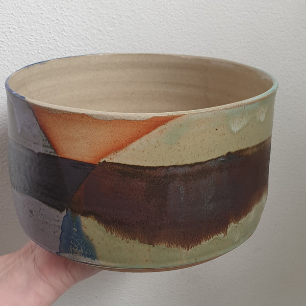 Handmade Planter Extra Large - Abstract