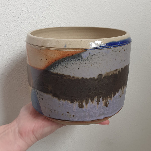 Handmade Planter Large Abstract