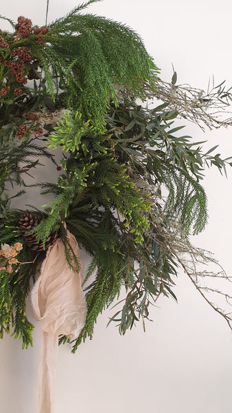 Workshop : Stylish Christmas Wreath Saturday, 28th November