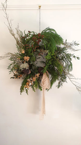 Workshop : Stylish Christmas Wreath Sunday, 29th November