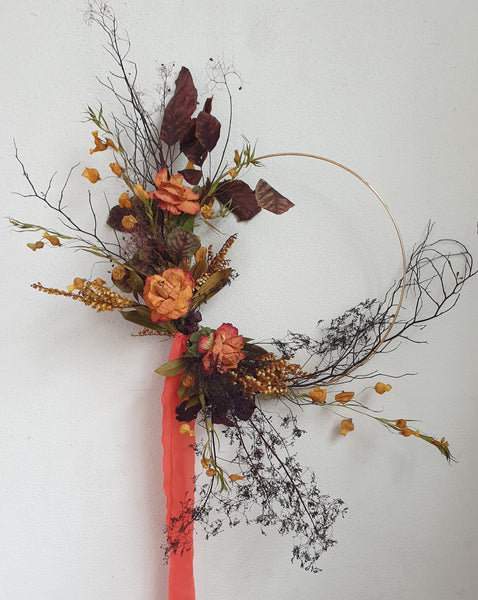 Workshop : Autumn Wreath, Sunday 18th April