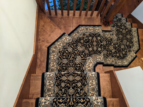 Stair Treads or Stair Runners-Why Not Both
