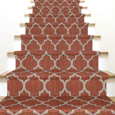 Taza Stair Treads and Stair Runners in 36 Designer Colors and Many Sizes