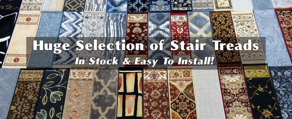 Hundreds of Stair Treads