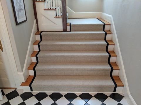 Extra Wide Steps Contoured to Fit Properly