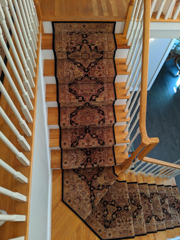 Nourison 2000 Stair Runner Custom Installation