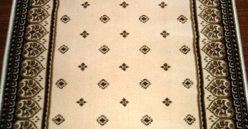 Central Oriental Stair Runner Dimensions Fleur Ivory Stair Runner 4338.14C- 26  Sold By the Foot