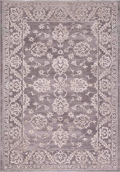 Concord Global  Rugs 2.3 x 7.3 Thema Area Rug and Stair Runner 2981 Beige Grey Poly Made In Turkey