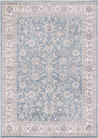 Concord Global Trading Area Rugs Kashan Blue Area Rugs 2814 By Concord Global in 6 Sizes