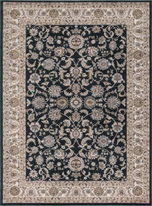 Concord Global Trading Area Rugs Kashan Green Area Rugs 2815 By Concord Global in 6 Sizes