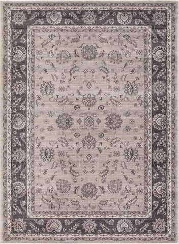Concord Global Trading Area Rugs Kashan Ivory Area Rugs 2822 By Concord Global in 6 Sizes