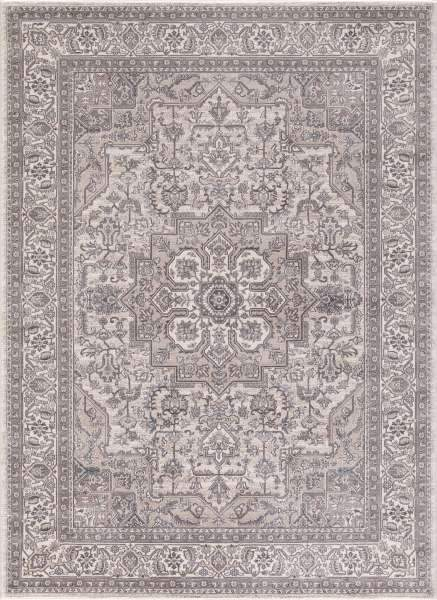 Concord Global Trading Area Rugs Kashan Ivory Area Rugs 2832 By Concord Global in 6 Sizes