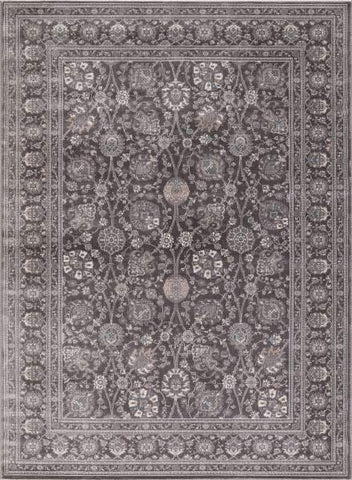 Concord Global Trading Area Rugs Kashan Ivory Area Rugs 2846 By Concord Global in 6 Sizes